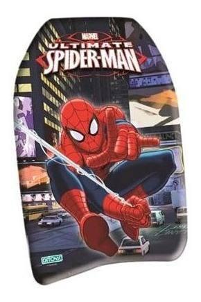 Barrenador infantil bodyboard spiderman 1786 ditoys