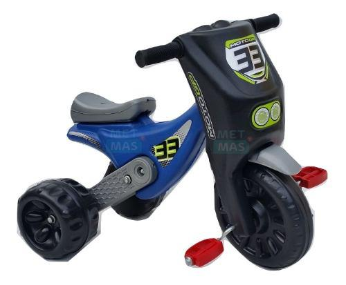 Triciclo infantil moto motito gp - pvc de alto impacto !!