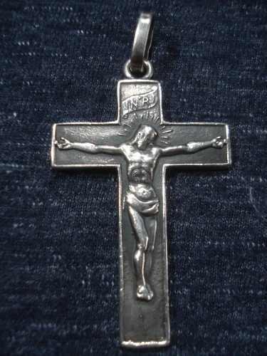 Antigua cruz de plata 900 a: belgiorno
