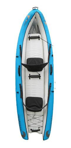 Canoa inflable sportek coaster 2 personas