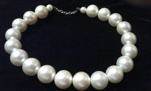 Gargantilla de perlas cultivadas antigua