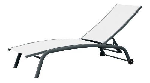 Reposera de aluminio modelo bavaro playa pileta envio gratis