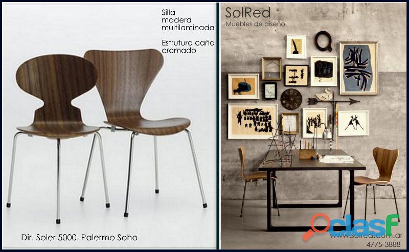 Mesa y silla para ofinas innovadoras