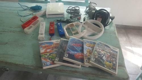Nintendo wii, juegos, controles