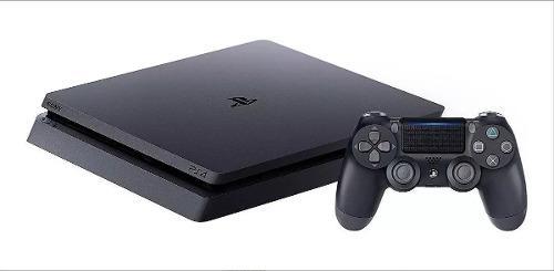 Ps4 playstation 500gb + joystick + 2 juegos fisicos-digital