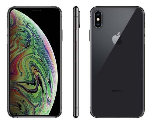 Iphone xs max 256 negro libre liberado + glass + acc - cuota