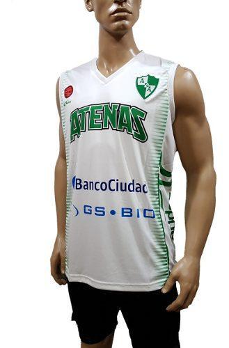 Camiseta Alternativa De Atenas Básquet, Córdoba, Adhoc