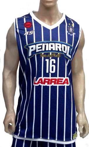 Camiseta de basquet peñarol de mar del plata 19/20 a's