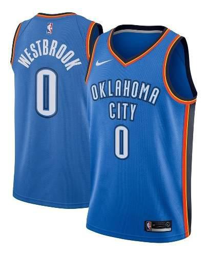 Camiseta nba oklahoma city thunder russell westbrook basquet