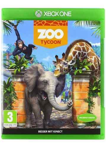 Juego físico xbox zoo tycoon original caja sellada