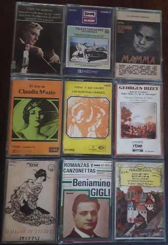 Cassette música clásica - colección