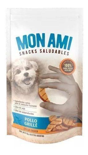 Golosinas perros snack mon ami dental clean pollo grille
