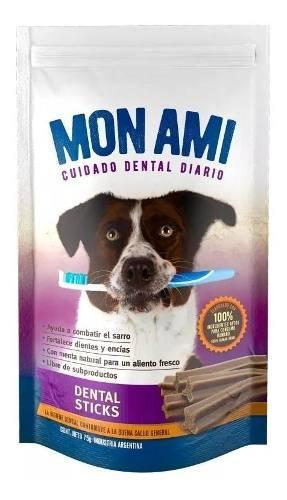 Golosinas perros snack mon ami saludable stick dental