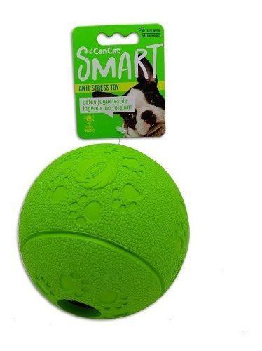 Juguete perro pelota cancat dispensa golosinas anti stress m