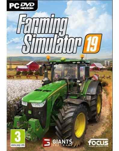 Farming simulator 2019 pc juego fisico
