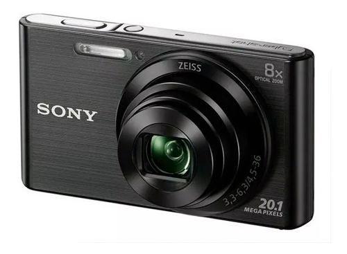 Sony w830 camara digital 20.1 mp zoom 8x video hd iso 3200 #