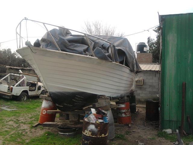 Barco madera 8.50 m