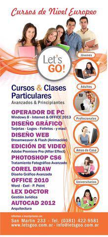 Cursos & clases particulares let's go!