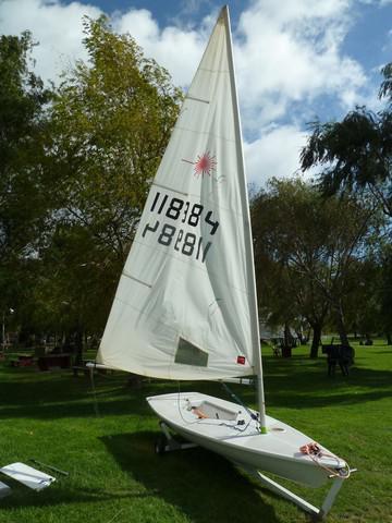 Laser standard chileno homologado 1996