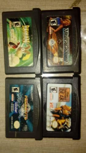 Lote juegos gameboy advance originales