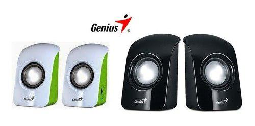 Parlantes potenciados genius portatiles sp u115 pc notebook