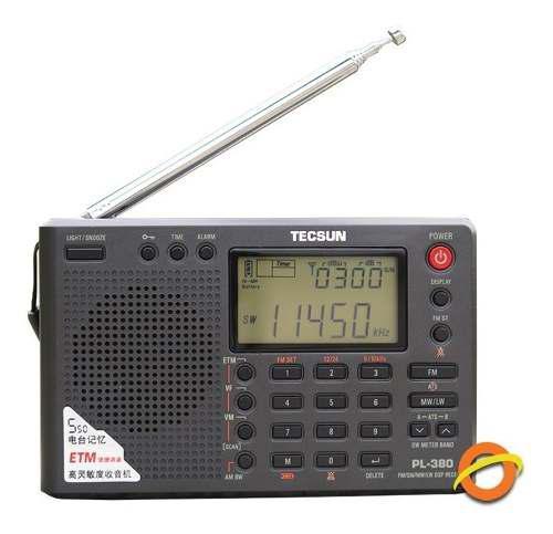 Radio portatil digital multibanda onda corta recepcion