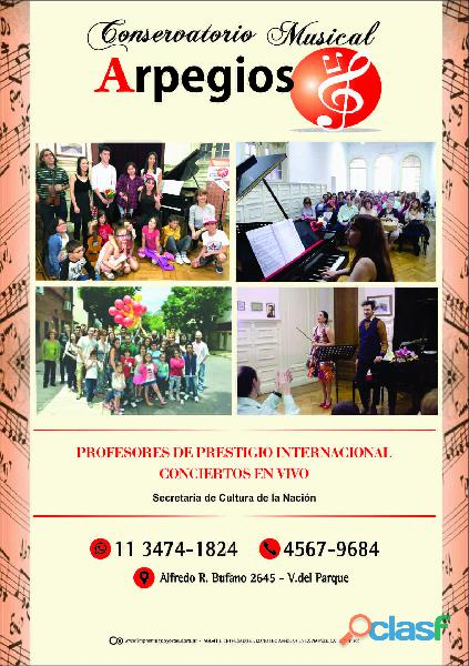 Clases particulares piano