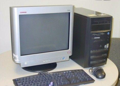Compaq -windows 7 -celeron 1.70 ghz -disco 40 gb -ram 1 gb