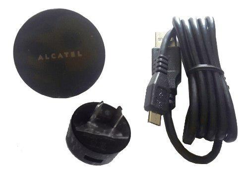 Cargador usb alcatel original one touch uc12ar 5v 1a envio
