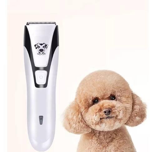 Maquina cortadora de pelo mascota perro recargable sin ruido