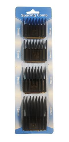Set 4 peines alzada peluqueria peladora cortadora