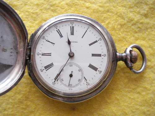 Antiguo reloj bolsillo longines año 1889