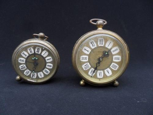 Lote antiguo reloj despertador aleman dalamal blessing mesa