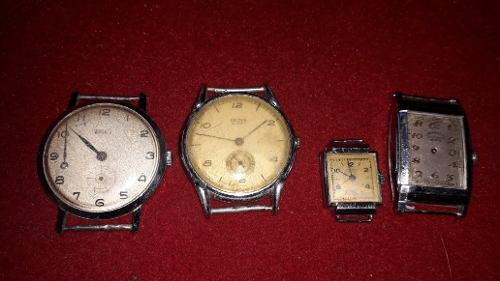 Relojes antiguos ancora por lote