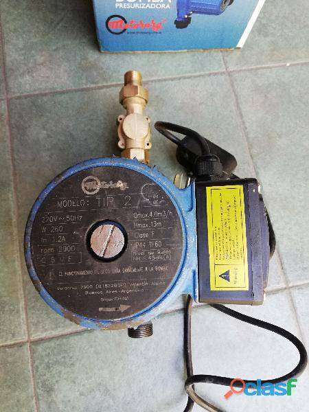 Reparacion de bombas de agua centrifugas, sumergibles, presurizadoras