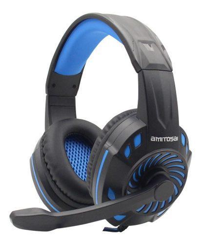 Auricular gamer amitosai microfono ps4 xbox one envio cuotas