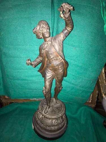 Escultura petit bronce personaje
