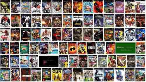 Juegos playstation 2 cualquier título combo 5 unidades