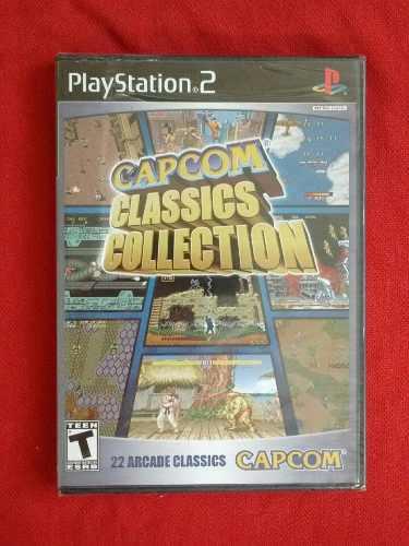 Juegos ps2 capcom classics collection original 22 en 1
