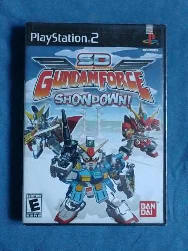 Juegos ps2 sd gundam force showdown original nuevo sellado