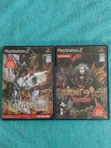 Juegos ps2 set akumajo dracula castlevania curse of darkness