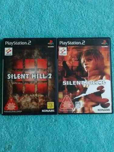 Juegos ps2 silent hill 2 + silent hill 3 originales ntsc-j