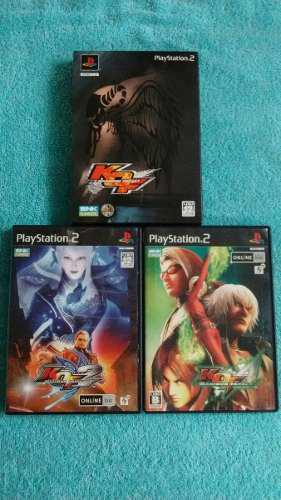 Juegos ps2 the king of fighters maximum impact 1 + 2 + 3