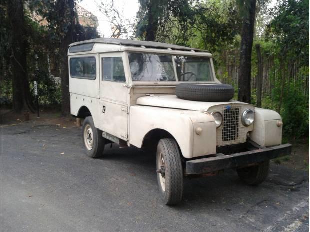 Land rover santana serie 1 corto 1956