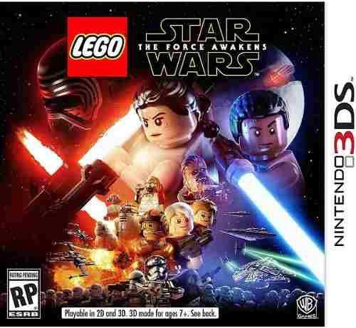 Lego star wars juego nintendo 3ds the force awaken playking