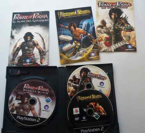 Prince of persia trilogy (3 juegos) juego original de ps2