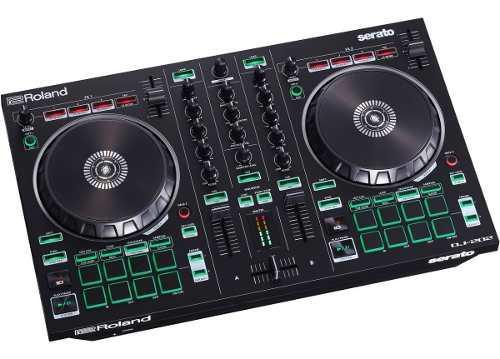 Roland dj202 controlador dj 2 canales 4-deck serato dj lite