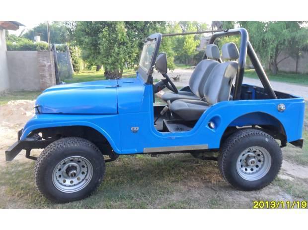 Vendo jeep 4x4 con motor ford nuevo