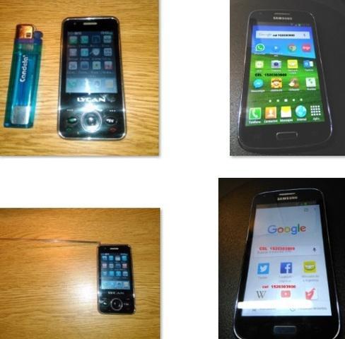 Vendo 2 celulares $1000 - $3500 - solo atiendo llamadas -