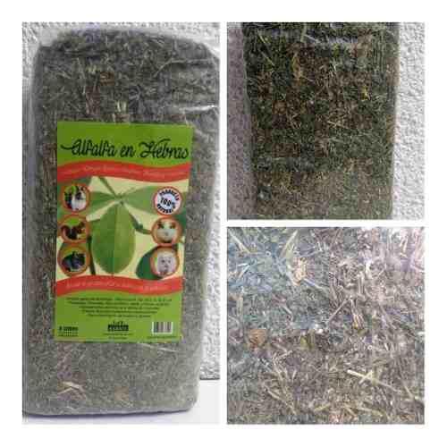 Alfalfa en hebras roedores 600 gr conejo cobayo chinchilla
